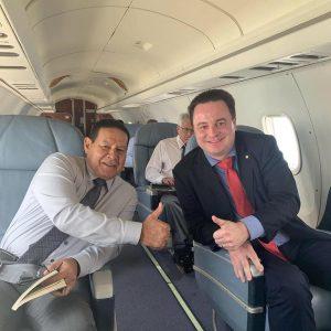 General Mourão e Deputado Rodrigo Coelho
